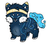 MYO Sushi Dog - He needs a name! by SapphireSquire
