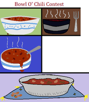 Drawing Contest Chili Contest by Oak-Storm