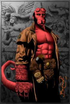 HellBoy by Brenofil