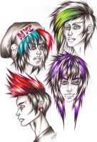 Some More Awsome Hair by Leftyhand