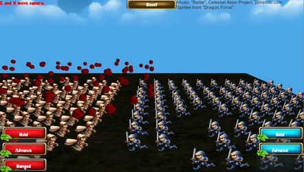 Mass Combat Demo (Unity) by KSchnee