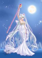 Neo Queen Serenity Silver Hair by Taulan-art