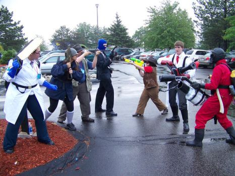 Tf2 Cosplay at Portcon 09 by Volorkey