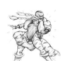 Cammy and Zangief by jmont