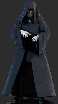 Emperor Sheev Palpatine by Yare-Yare-Dong