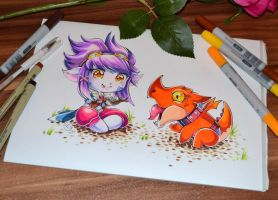 Dragon Trainer Tristana by Lighane