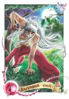 InuYasha Demon by anchii-artist