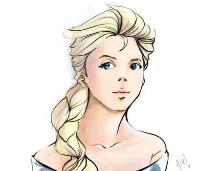 elsa again by KoaLina
