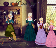 My Cinderella: Illustration 1 by musicmermaid