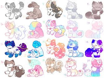 20 smol adopts !! [closed] by LilliePuff