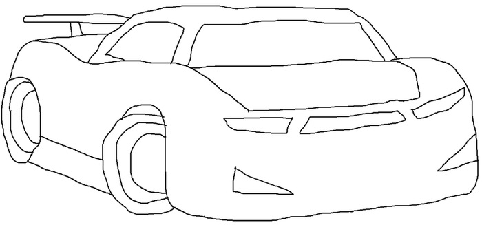 Cars 3 Next Gen Racer SB Type Template by NaruHinaFanatic