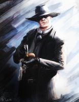 The Man in Black by R-Lux