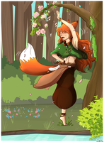 Dancing Tree by LeahFoxDen