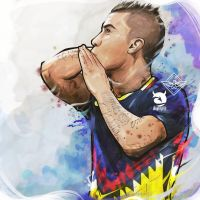 Matheus Uribe Colombia Club America by akyanyme