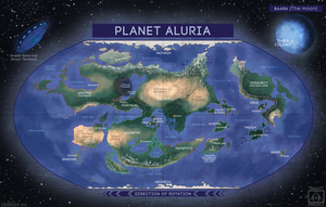 Planet Aluria by LauralienArt