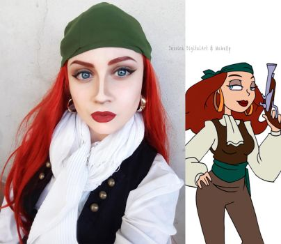 Istant Cosplay: Elaine The Curse of Monkey Island by JessieOctober