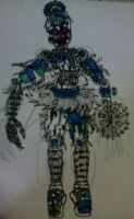 Request-athon - Scrap Ballora by FreddleFrooby