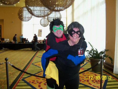 Dick and Damian by another2luvers