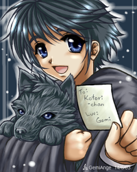 Cutie Sirius for Kotori-chan by gemiange