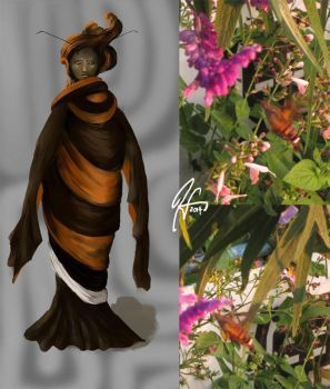 Moth Series 15 - The Sumptuous by SineSquared