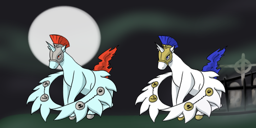 Horsemon: Valormare by silhouette345