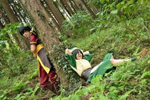 Toph and Zuko by MIUX-R