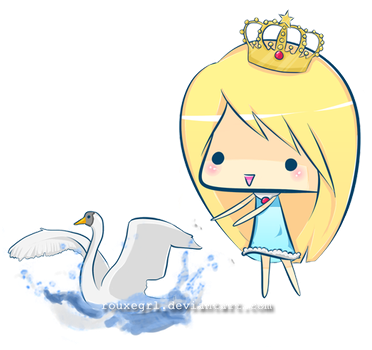 swan princess i d by Passion91