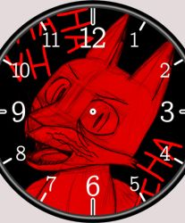 Insane Clock Fox by takeshita-kenji