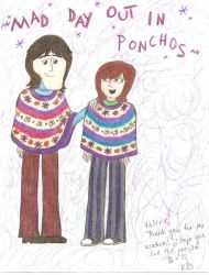Request - George And Valerie In Ponchos by girlwitharubbersoul