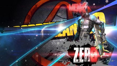 Borderlands Wallpaper - ZER0 by mentalmars