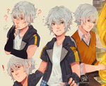 Riku and more Rikus: A Sketchpage by Mochiaa