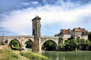 Bridge of Orthez ( new edit ) by UdoChristmann