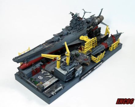 Yamato Dry Dock by enc86