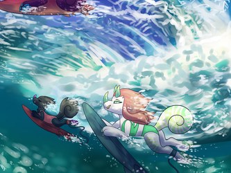 Under The Surf by SpindleSpice