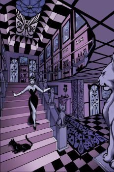 Catwoman Lair Background by Carliihde