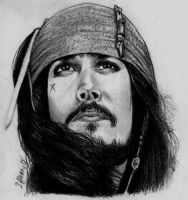 Fan Art - Captain Jack Sparrow by ihsans-Art