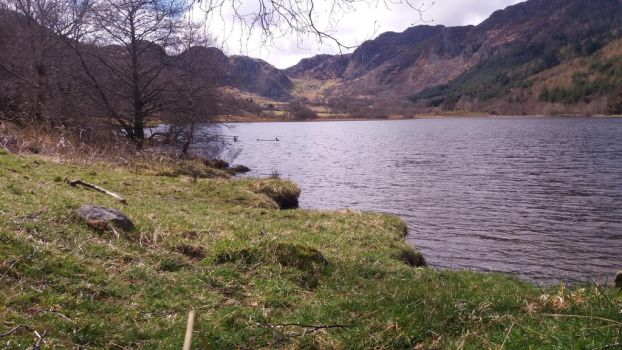 Lake Trefriw by ProfessorBagel