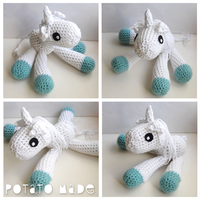 Potato Made - Amigurumi Unicorn by AngryPotato