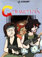 Game Grumps in Contra by Fredcheeseburger