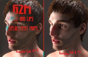 G2M Zbrushed Displacement FREEBIE by FlorentMoon by Florentmoon