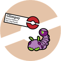 Fake Pokemon: Glimpsy by Sageroot