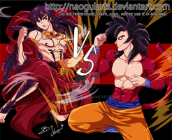 Sinbad VS Goku by naoguiarts
