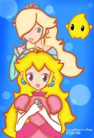 Rosalina and Peach Sisters? by LoveCherryPop