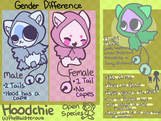 :Hoodchies(OPEN SPECIES): by PrePAWSterous