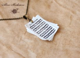 River flows in you Pendant by Krinna