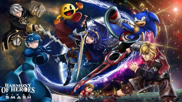 Harmony of Heroes: Final Smash by Cronoan