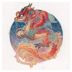 Little Dragon by Ricefish