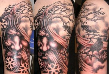 Woden by DarkSunTattoo