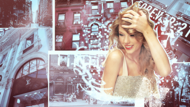 Taylor Swift Wallpaper by RT-Cipher