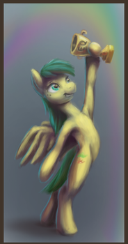 Illustration for interview with AuroraDawn(eqd) by Drul